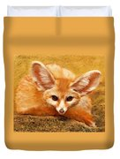 Fennec Fox Duvet Cover