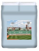 Fenway Park Green Monster 1 Duvet Cover