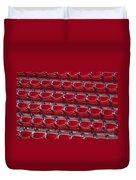 Fenway Seats Duvet Cover