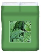 Fern Collage Duvet Cover