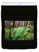 Fern In Forest Duvet Cover