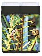 Fern Twirls Duvet Cover
