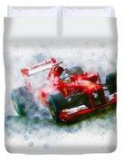 Fernando Alonso Of Spain Duvet Cover