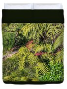 Ferns And More Duvet Cover