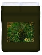 Ferns In The Jungle Room Duvet Cover