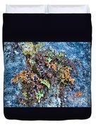Ferns On Cliffside Duvet Cover