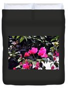 Fernwood Botanical Garden Bougainvillea Niles Michigan Usa Duvet Cover