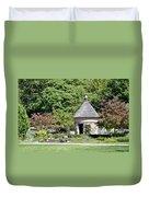 Fernwood Botanical Garden Stone Herb House Usa Duvet Cover