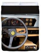 Ferrari 3.2 Mondial Cabriolet Interior Duvet Cover