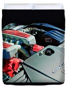 Ferrari 599 Gtb Engine Duvet Cover