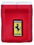 Ferrari Badge Duvet Cover