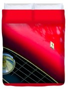 Ferrari Grille Emblem - Headlight Duvet Cover