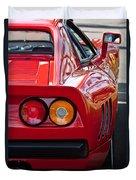 Ferrari Gto 288 Taillight -0631c Duvet Cover