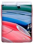 Ferrari Hood Emblem -0630c Duvet Cover