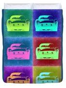 Ferrari Pop Art 2 Duvet Cover
