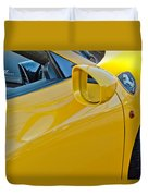 Ferrari Side Emblem Duvet Cover