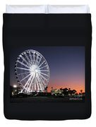 Ferris Wheel 16 Duvet Cover
