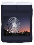Ferris Wheel 19 Duvet Cover