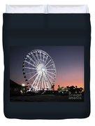 Ferris Wheel 22 Duvet Cover
