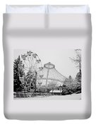 Ferris Wheel And R F P Pavilion - Spokane Washington Duvet Cover
