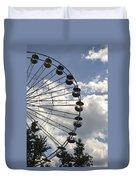Ferris Wheel In The Sky Duvet Cover