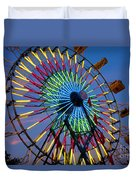 Ferris Wheel, Kentucky State Fair Duvet Cover