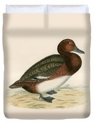 Ferruginous Duck Duvet Cover