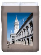 Ferry Building Duvet Cover
