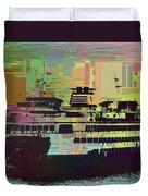 Ferry Cubed 2 Duvet Cover