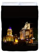 Festival Of Lights Gendarmenmarkt Berlin Duvet Cover
