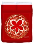 Festive Star Bauble Orb Duvet Cover
