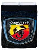Fiat Abarth Emblem Duvet Cover