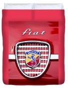 Fiat Emblem 2 Duvet Cover by Jill Reger