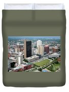 Fiberglass Tower Toledo Ohio Duvet Cover