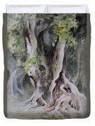 Ficus Aurea Duvet Cover