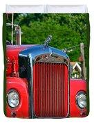 Fie Truck Duvet Cover