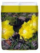Field Cactus Duvet Cover