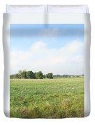 Field In France Duvet Cover
