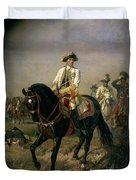 Field Marshal Baron Ernst Von Laudon 1717-90, General In The Seven Years War And War Of Bavarian Duvet Cover