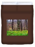 Field Of Daffodils Duvet Cover