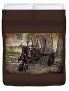Field Of Dreams Duvet Cover by Janice Rae Pariza