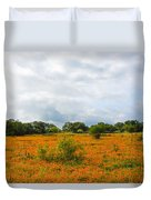 Field Ablaze Duvet Cover
