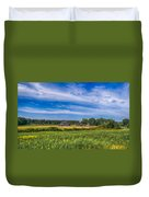 Field Of Green Duvet Cover