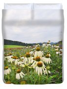 Field Of Medicine Perspective Duvet Cover