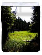 Field Of Possibilities Duvet Cover