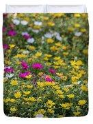 Field Of Pretty Flowers Duvet Cover