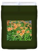 Field Of Tiger Lilies Duvet Cover
