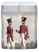 Field Officers Of The Royal Marines Duvet Cover