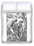 Field Surgeon, 1547 Duvet Cover