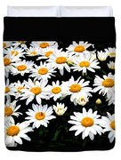 Fields Of Daisies Duvet Cover